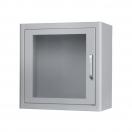 Cabina metalica pentru interior cu alarma - alb