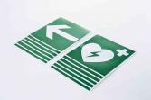 Indicatoare AED Set 1